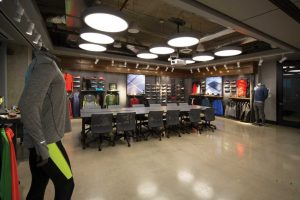pic - The Nike office showroom