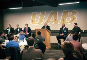 pic - UAB B-School Forum gathering