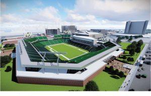 pic - Concept art of BJCC Stadium