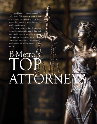 B-Metro's Top Attorneys 2020