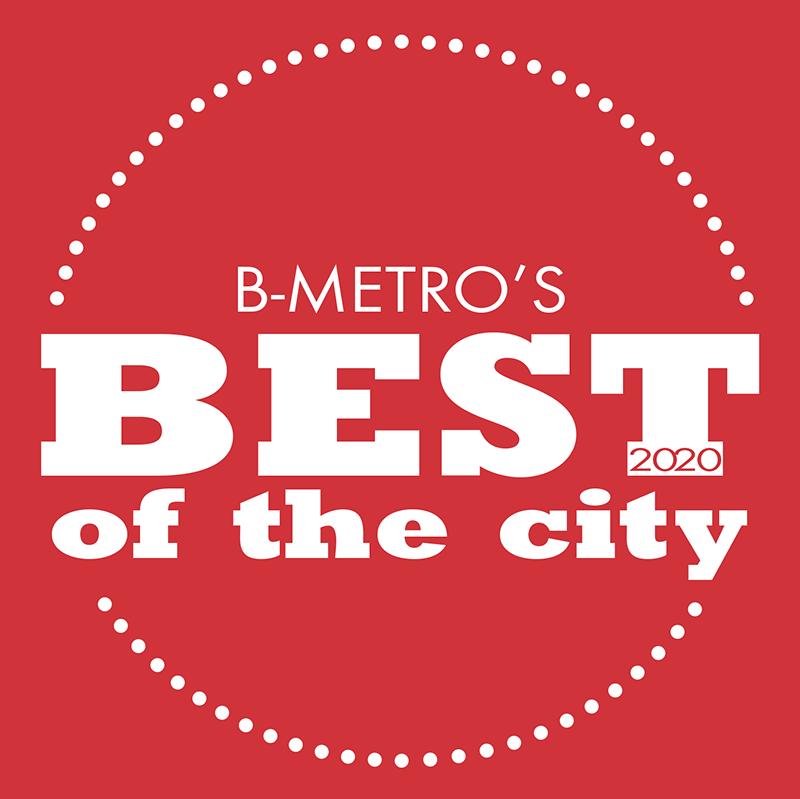 text: B-Metro's Best of the City 2020
