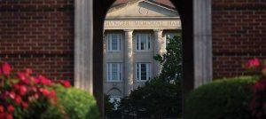 Birmingham Southern Munger Memorial Hall entrance